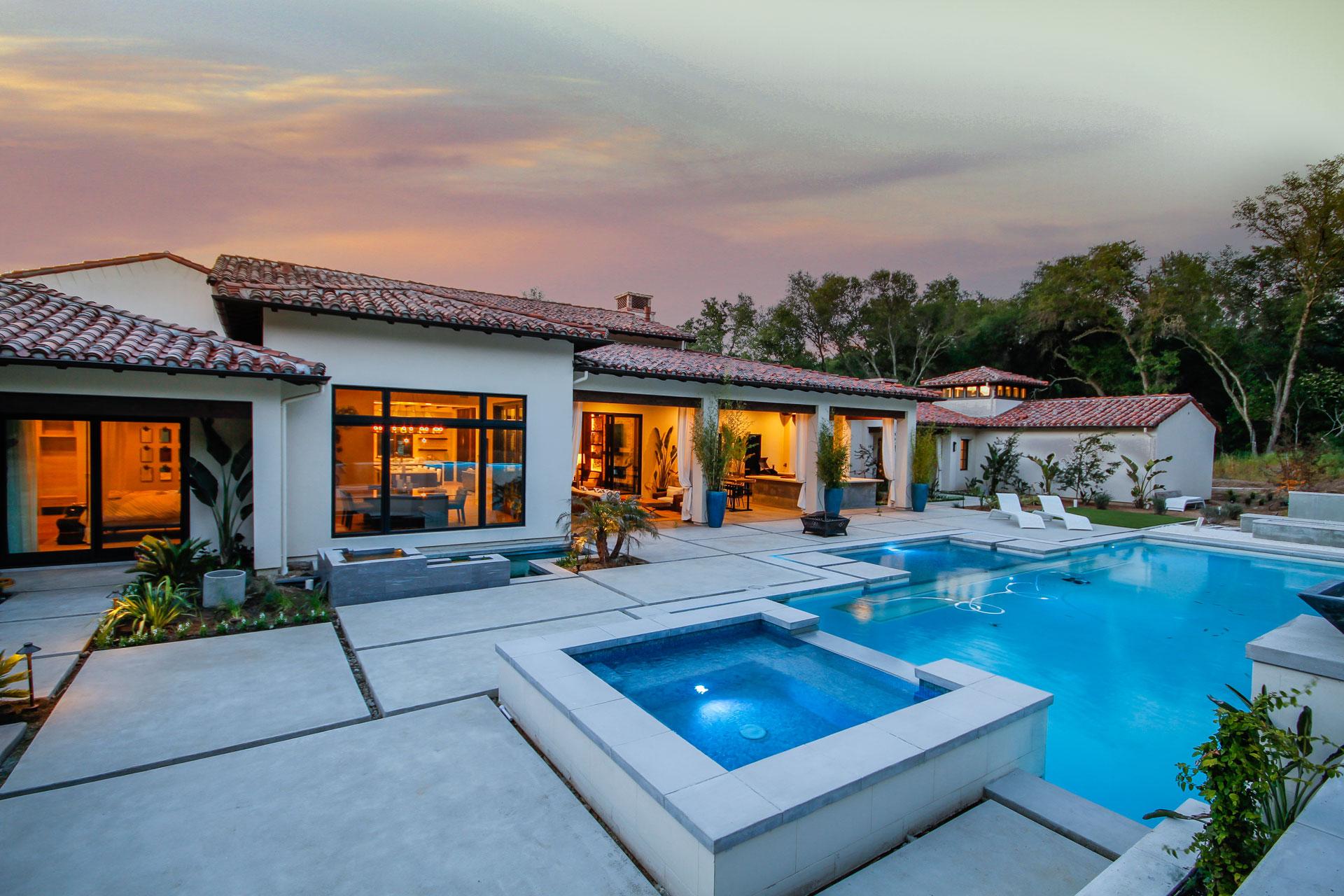 Custom Home Landscape Design